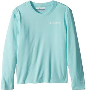 Columbia Kids PFG Zero Rules Long Sleeve Shirt Boy's Long Sleeve Pullover