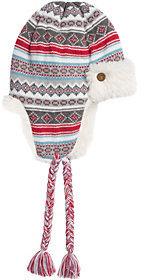 Muk Luks Women's Fair Isle Trapper Hat