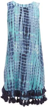 Jessica Simpson Big Girls 7-16 Skye Tie Dye Swing Dress