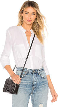 Bella Dahl Two Pocket Button Down Top