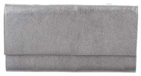 Maison Margiela Metallic Grained Leather Wallet