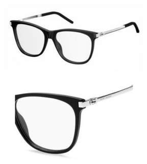 Marc Jacobs Eyeglasses 144 0CSA Black / Palladium