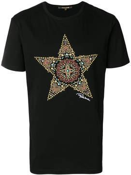 Roberto Cavalli embellished star T-shirt