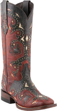 Lucchese Bootmaker M5810.TWF Square Toe Fowler Heel Boot (Women's)