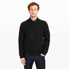 Club Monaco Wool Bomber Jacket