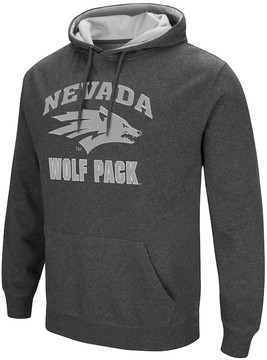 Colosseum Men's Campus Heritage Nevada Wolf Pack Pullover Hoodie