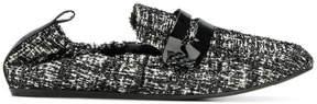 Lanvin woven moccasins