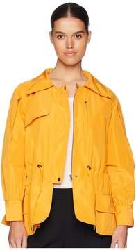 Jil Sander Navy Long Sleeve Faile Blouson Women's Clothing