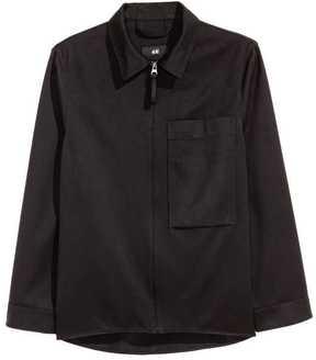 H&M Wool-blend Shirt Jacket