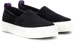 Eytys Viper suede slip-on sneakers