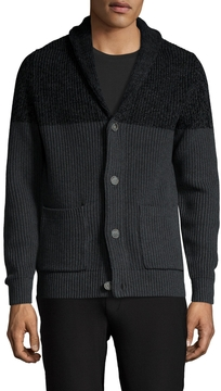 Life After Denim Men's Holland Colorblock Shawl Cardigan