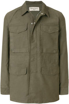 Officine Generale concealed multi pocket jacket