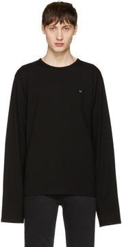 Acne Studios Black Fello Face T-Shirt