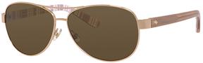 Safilo USA Kate Spade Dalia 2 Polarized Aviator Sunglasses