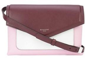 Givenchy Women's Burgundy/pink Leather Shoulder Bag.