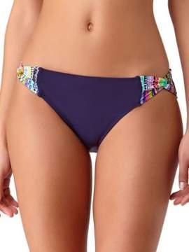 Anne Cole Braided Stripe Bikini Bottom