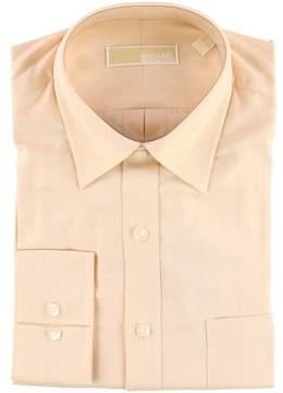 Michael Kors LS Button Up Dress Shirt Orange 16