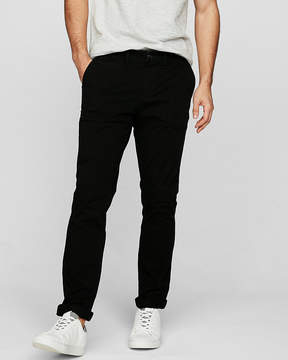 Express Skinny Chambray Trim Tough Stretch+ Chino
