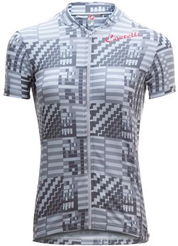 Castelli Bellissima Sentimento Full Zip Jersey - Short Sleeve