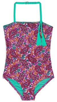 Hula Star Toddler Girl's Paisley Dream One-Piece Swimsuit