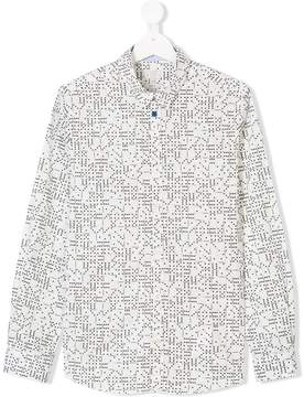 Paul Smith TEEN dominos print shirt