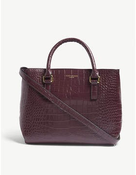 Kurt Geiger London London croc-embossed leather tote