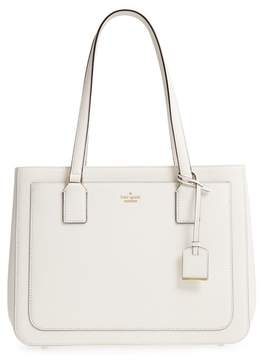 Kate Spade Cameron Street - Zooey Leather Tote - WHITE - STYLE
