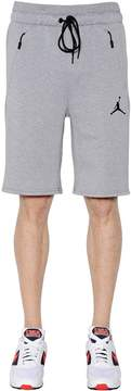 Air Jordan Cotton Blend Sweat Shorts