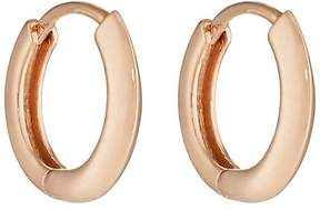 Eva Fehren Women's Rose Gold Huggie Hoop Earrings