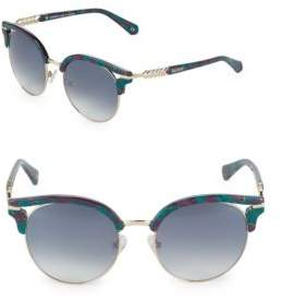 Balmain Gradient 53MM Clubmaster Sunglasses