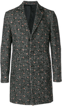Daniele Alessandrini spotted patterned coat