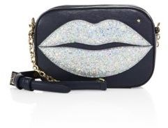 Charlotte Olympia Pouty Leather Shoulder Bag
