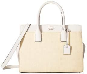 Kate Spade Cameron Street Straw Candace Satchel Handbags
