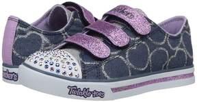 Skechers Sparkle Glitz 10709L Lights Girl's Shoes