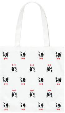 Forever 21 Boston Terrier Graphic Tote