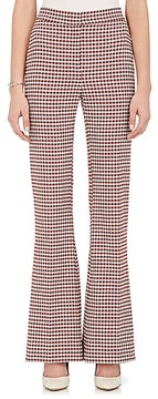 Brock Collection Women's Pamela Gingham Wide-Leg Pants