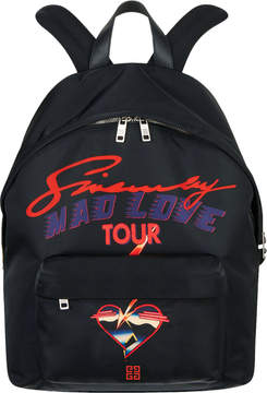 Givenchy Printed Backpack Nylon Black Multicolor