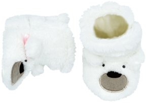 Carter's Baby Boy Polar Bear Slipper Crib Shoes