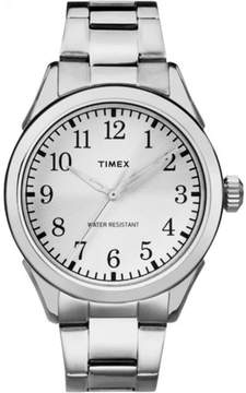Timex Men's Briarwood Watch, Silver-Tone Stainless Steel Bracelet
