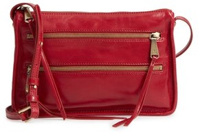 Hobo Mission Leather Crossbody Bag - Red