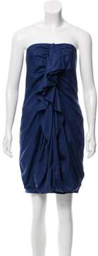 Barneys New York Barney's New York Strapless Mini Dress w/ Tags
