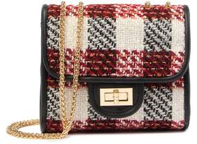 Urban Expressions Plaid Crossbody Bag