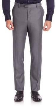 Pal Zileri Modern-Fit Solid Wool Pants