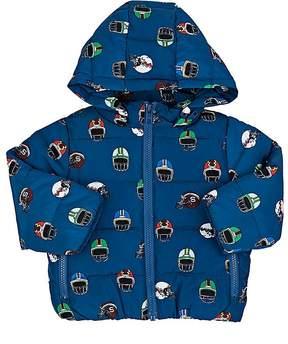 Stella McCartney Infants' Football-Helmet-Print Coat
