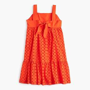 J.Crew Girls' eyelet dress
