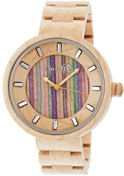 Earth Root Collection ETHEW2505 Unisex Wood Watch with Wood Bracelet-Style Band