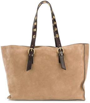 L'Autre Chose tote bag with tonal straps