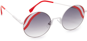 Fendi Round Waves Sunglasses