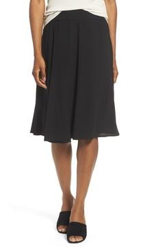 Eileen Fisher Women's Gored Silk Skirt
