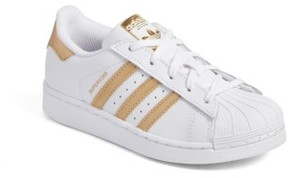 adidas Girl's Superstar C Sneaker